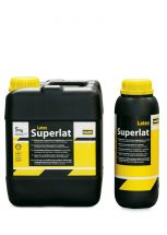 Superlat Latex - Waterproofing of Walls - Mortar and Concrete Admixtures - Complementary products - Complementary Products - Plasters - Waterproofing of Basements & Tanks - Repairing of Concrete - Complementary Products - Waterproofing products - Waterproofing of Flat Roofs - Repairing of Masonry Walls, Putties - Repairing products - Floorings - Adhesive and grouts